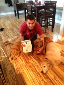 Happy Repeat Dog Sitting Client, Nick Anton!